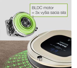 Roomy-BLDC motor